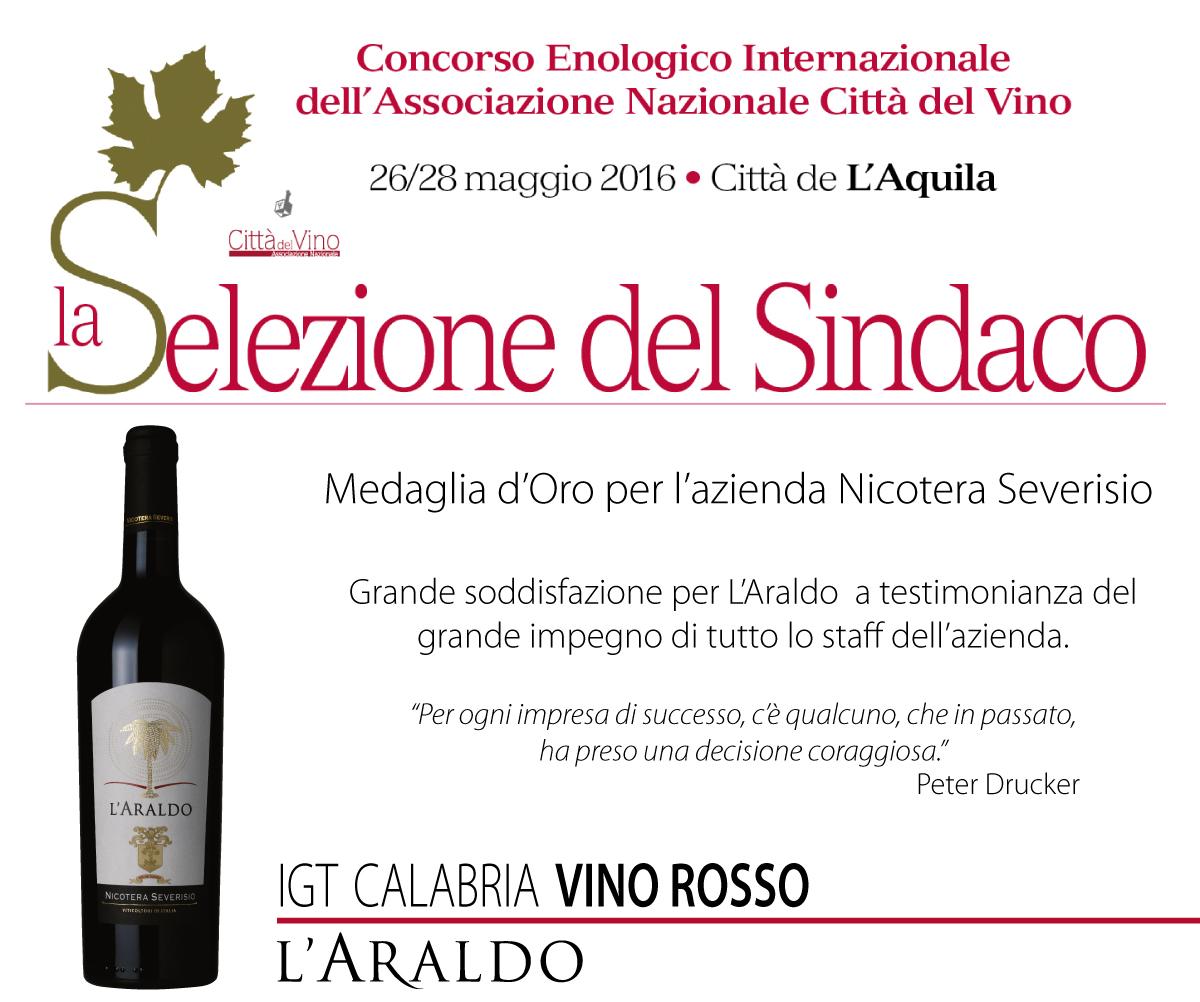 26 - 28 Maggio 2016 - Città de l'Aquila enologico internazionale dell'associazione nazionale città del vino.